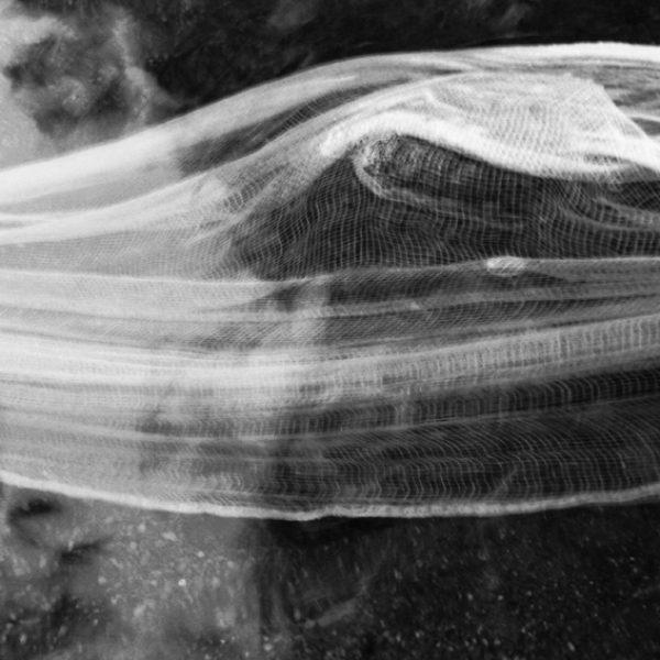 Gaze e água (rio), 2006. Ampliação fotográfica em papel de fibra. 58 × 43,5 cm cada. Tríptico.