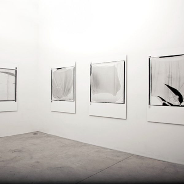 Exhibition 'Gesto Mínimo', 2010. Riccardo Crespi Gallery, Milan. Curated by Federica Bueti.