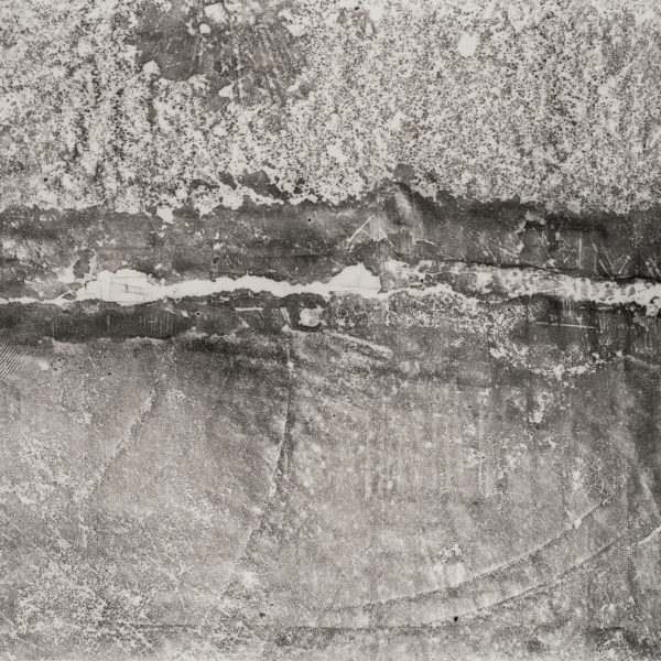 (Detail) - Leito Gráfico (40.6819612,-73.9962147 - 10), 2014. Monoprint on japanese paper, 100 x 500 cm