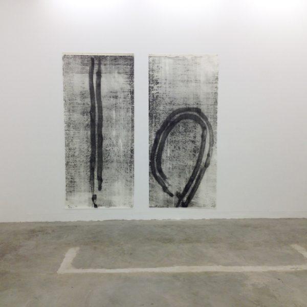 Exposição 'Indelével', 2016. Jacaranda, Rio de Janeiro. Curadoria Vicente de Mello