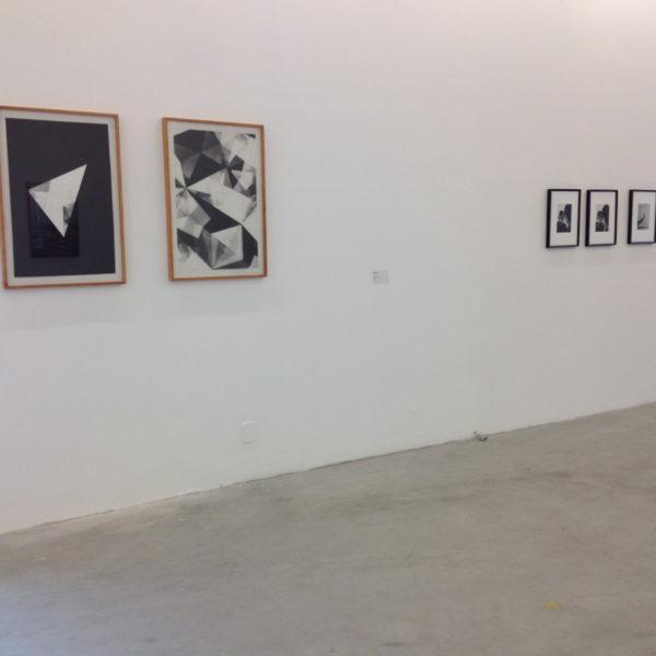 Exposição 'Indelével', 2016. Clube Jacaranda, Vila Aymoré, Rio de Janeiro. Curadoria Vicente de Mello