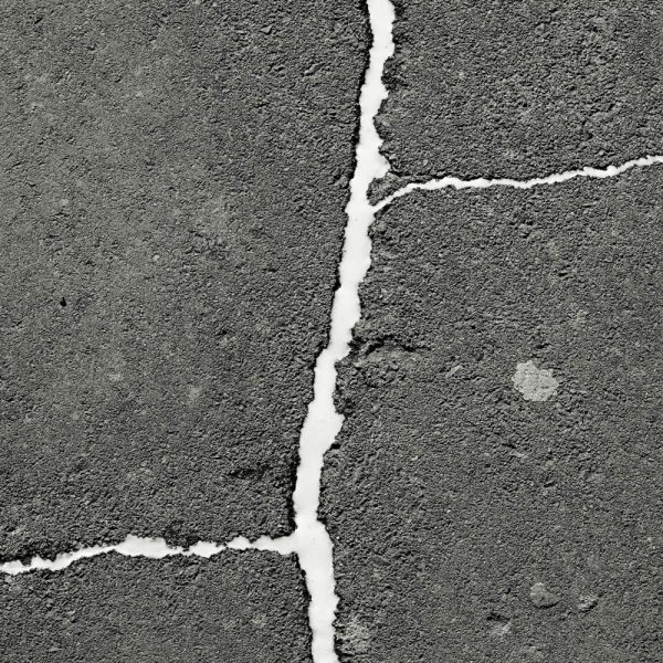 Milk on Pavement, 2008. Inkjet print on cotton paper.