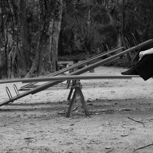 Untitled (Seesaw), 2011. Inkjet print on cotton paper. 51 x 80 cm.