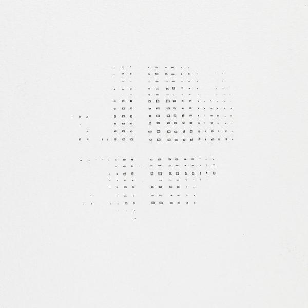 Detalhe: Vazio contido, 2017. Desenho, lápis sobre papel, 50 x 32 cm.
