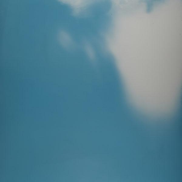 Overhead, 2018. Aluminum fotogram, around 92 x 68,5 cm